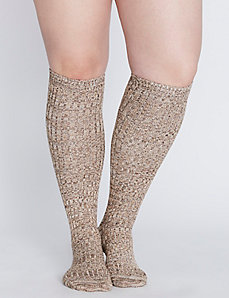 Super-Soft Heathered Boot Socks