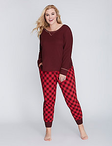 Cotton Sleep Jogger Pant