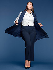 Long Vest by GLAMOUR X LANE BRYANT