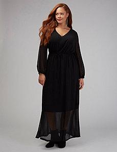 V-Neck Maxi Dress