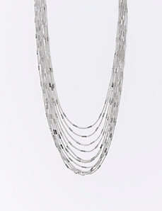 Long Multi-Chain Necklace