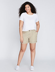 Patch-Pocket Canvas Short