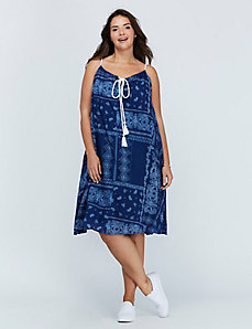 Corded Swing Dress