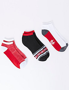 Fair Isle Sport Socks 3-Pack