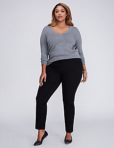 Ashley Cotton Smart Stretch Ankle Pant