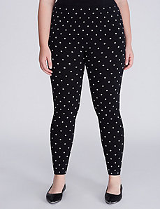 Polka Dot Dark Navy Legging