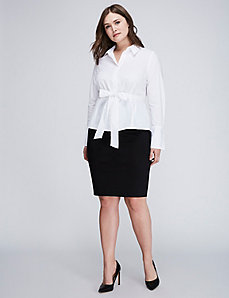 The Signature Shirt with Tie Waist