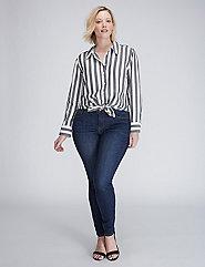 The Bold Striped Boyfriend Shirt