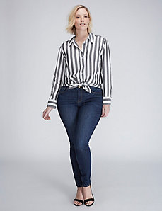 The Bold Striped Boyfriend Shirt
