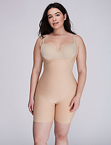 Shape by Cacique Open-Bust Bodysuit