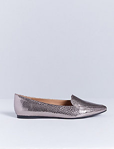 Pointed-Toe Loafer