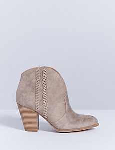 Braided Ankle Boot with Heel