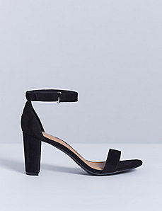 Ankle Strap Sandal with Block Heel
