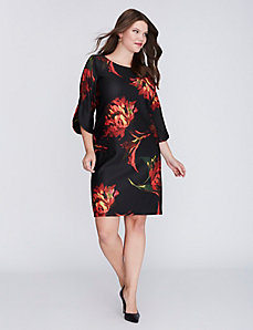 Floral Sheath Dress by Gabby Skye