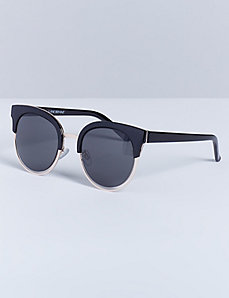 Black & Gold Top Rim Sunglasses