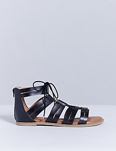 Lace-Up Gladiator Sandal