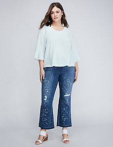 Released-Hem Ankle Jean by Melissa McCarthy Seven7