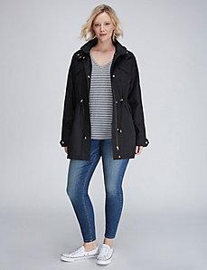 Front-Zip Anorak Jacket