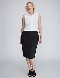 The Modernist Midi Pencil Skirt