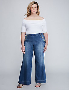 Wide Leg Sailor Jean