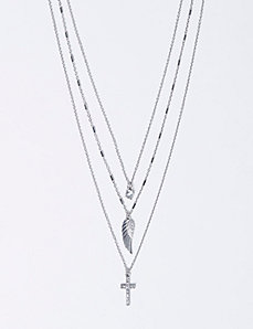 3-in-1 Cross Necklace