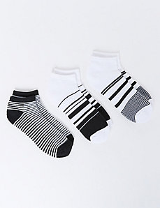 Striped Sport Socks 3-Pack