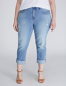 Denim Girlfriend Crop by Melissa McCarthy Seven7