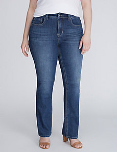 Slim Boot Jean with Pocket Detail by Melissa McCarthy Seven7