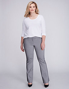 Allie Sexy Stretch Herringbone Boot Pant