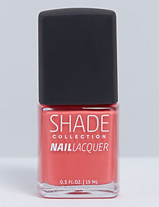 Hot Coral nail polish