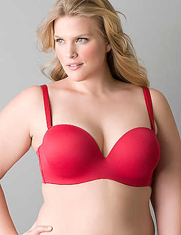 BRA6 convertible to strapless plunge bra