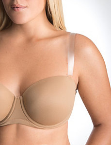"Clear 3/4"" bra straps by The Natural"