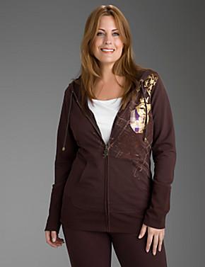 Seven7 zip front hoodie