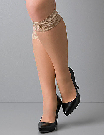 Plus size Spanx Hi-Knee Control Sheers
