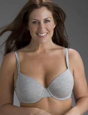 Cotton T-shirt bra