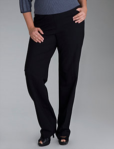 Straight leg trousers by Lane Bryant