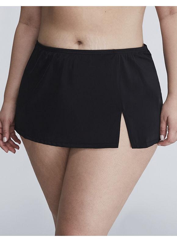 Cacique Plus Size Flirty swim skirt,  Women' Size: 28,  Black plus size,  plus size fashion plus size appare