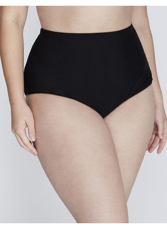 Cacique Plus Size Cheeky swim brief,  Women' Size: 28,  Black plus size,  plus size fashion plus size appare