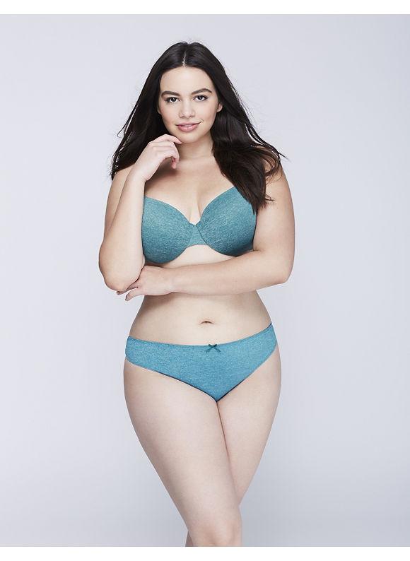 Cacique Plus Size Dazzler Thong Panty,  Women' Size: 18/20,  Shaded Spruce plus size,  plus size fashion plus size appare