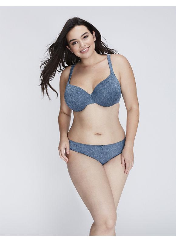Cacique Plus Size Dazzler Thong Panty,  Women' Size: 18/20,  Majolica Blue plus size,  plus size fashion plus size appare