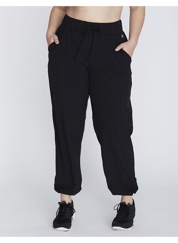 Livi Active Plus Size Woven Pant,  Women' Size: 18/20,  Black plus size,  plus size fashion plus size appare