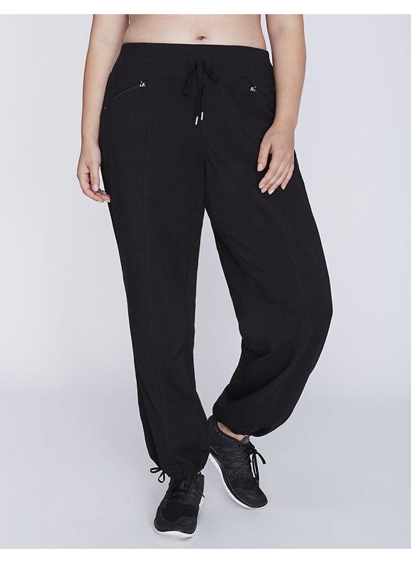 Livi Active Plus Size Signature Stretch Relaxed Straight Leg Active Pant,  Women' Size: 22/24 T,  Black plus size,  plus size fashion plus size appare