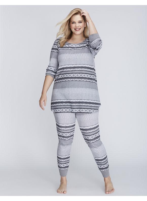 Lane Bryant Pajama's. #lanebryant #plussizeclothing #plussizes #clothingforplussizes
