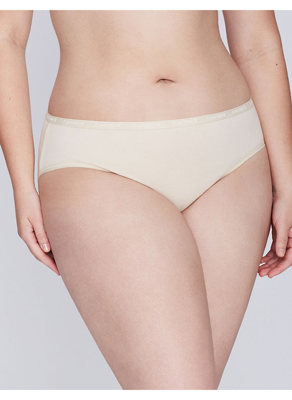 Cacique Plus Size Sassy cotton hipster panty,  Women' Size: 22/24,  Off White plus size,  plus size fashion plus size appare