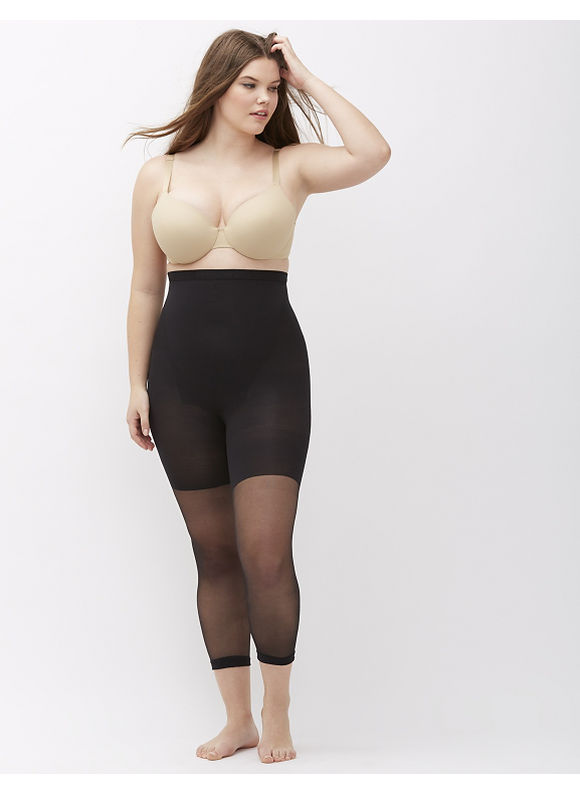 SPANX Plus Size Spanx® Higher Power Capri,  Women' Size: G,  Black plus size,  plus size fashion plus size appare