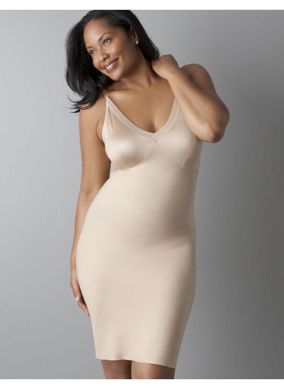 Lane Bryant Plus Size Spanx Slimplicity Lingerie Strap Slip - Black