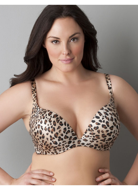 Lane Bryant Cushion Comfort plunge bra - Women's Plus Size/Black -