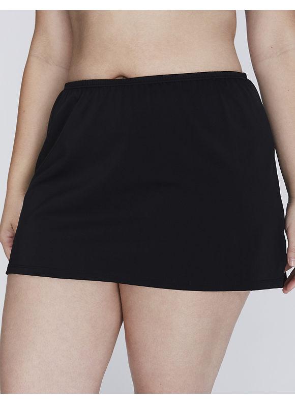 Cacique Plus Size Slit swim skirt,  Women' Size: 20,  Black plus size,  plus size fashion plus size appare