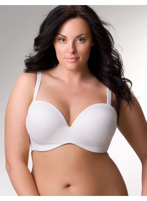 Lane Bryant Bra6 convertible plunge bra - Women's Plus Size/Sugar -