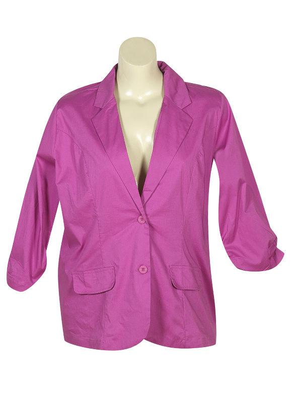 One Button Blazer by Millenium